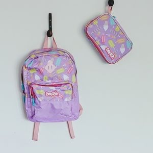 NWOT Backpack With Matching Lunch Bag Girls